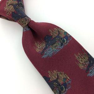 ANIMAL DOG SKINNY Silk Men Designer Necktie Ties